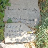 Depart du Sentier botanique